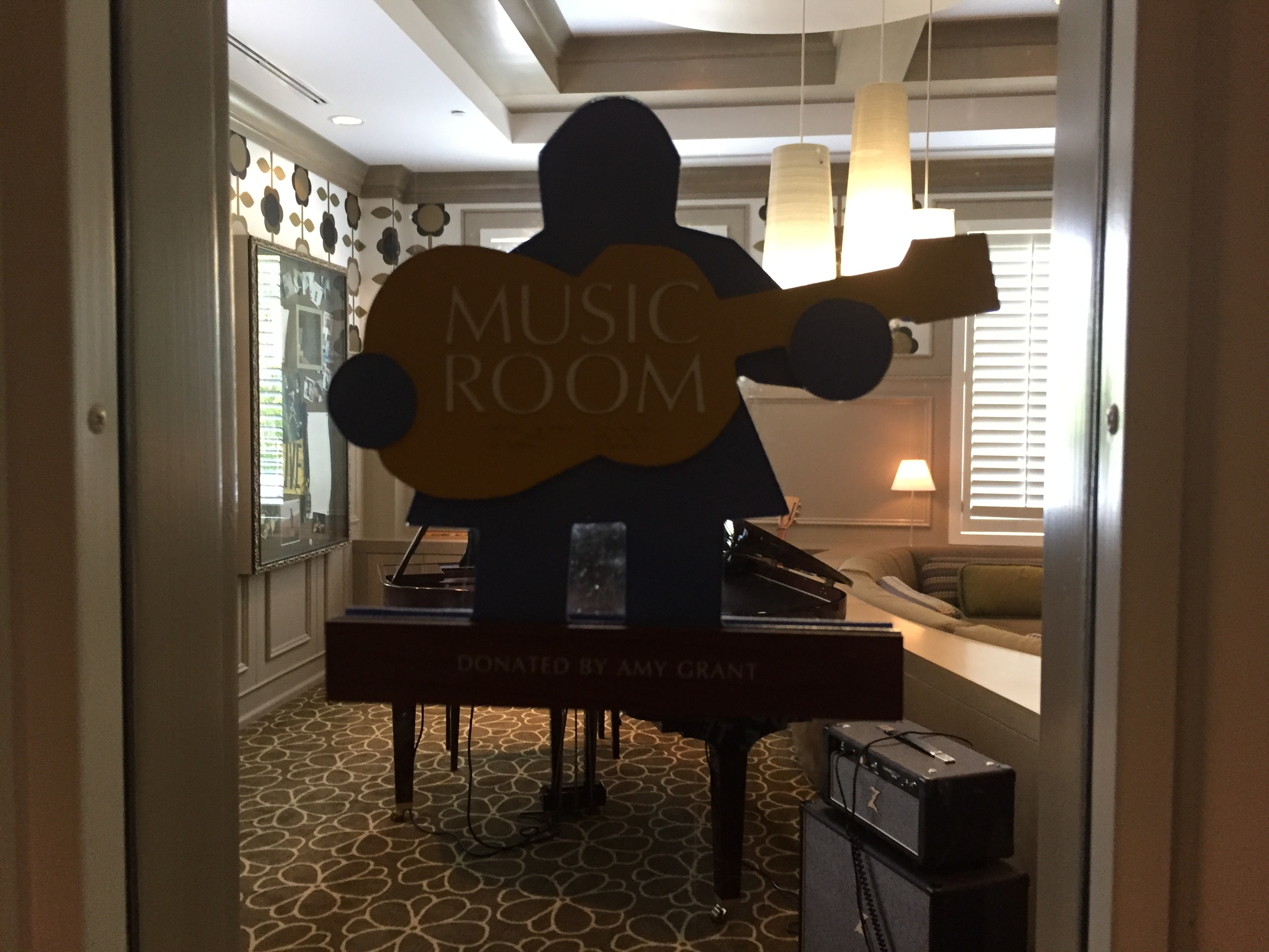 Amy Grant Music Room