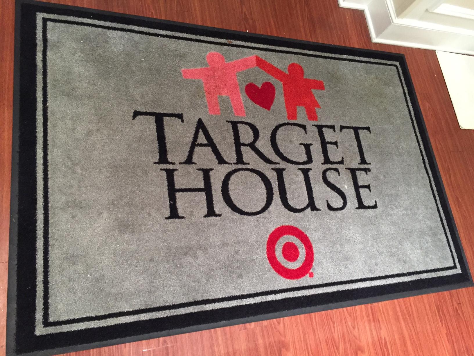 Target House door mat
